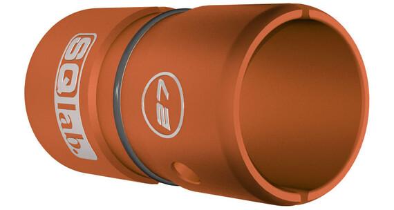 SQlab Lenkerhülse Alu 27,0 auf 31,8 mm eloxiert orange
